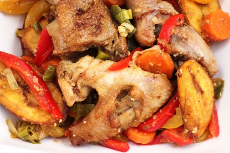 Le poulet dg recette camerounaise alice pegie cuisine - Recette de cuisine camerounaise ...