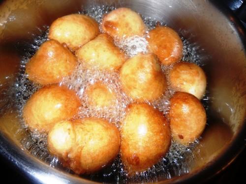 beignets de farine