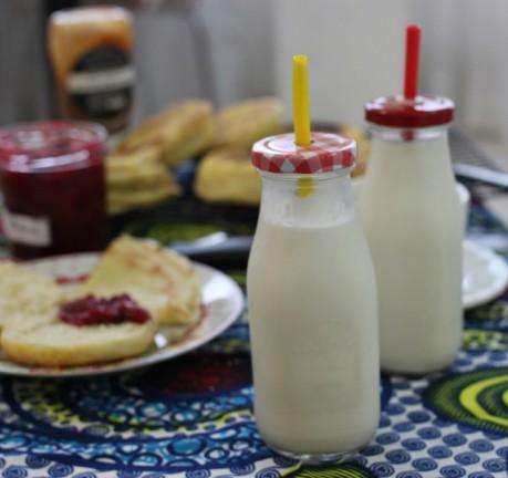 lait d'arachides