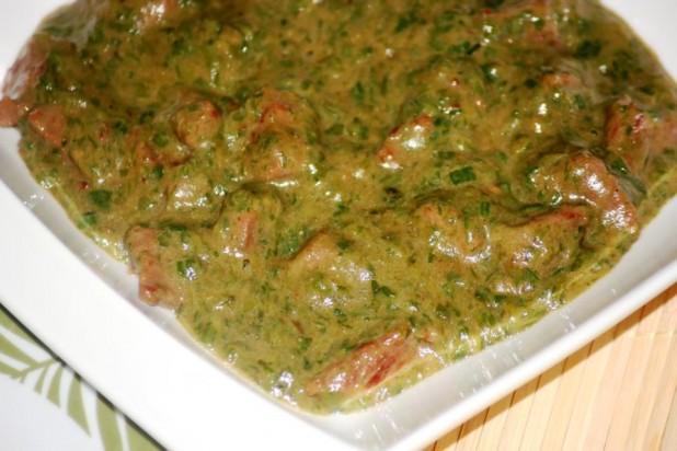 sauce gombo la viande de boeuf recette tchadienne recettes de cuisine africaine. Black Bedroom Furniture Sets. Home Design Ideas