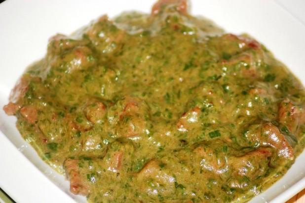 Sauce gombo la viande de boeuf recette tchadienne - Cuisine africaine camerounaise ...