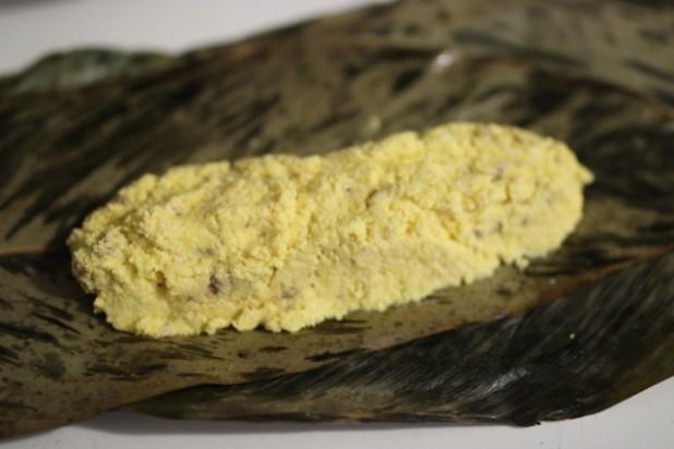 Le Nkonda (pain de manioc à la pâte d'arachide) (6)