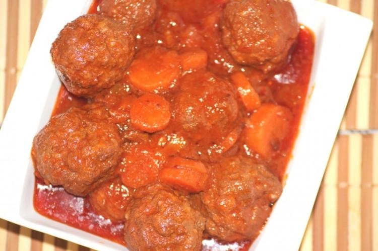 boulettes de viande à la tomate (4)