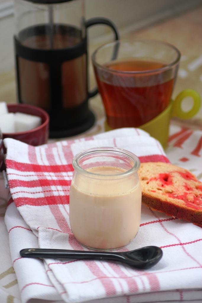 yaourt au thé rouge