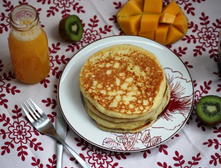 pancake au cottage cheese
