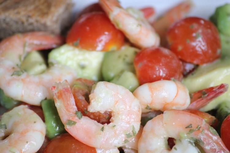 salade d'avocat et crevettes (11)