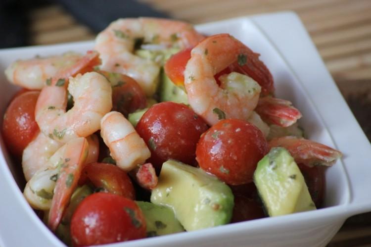 salade d'avocat et crevettes (6)