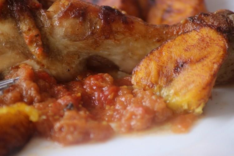poulet croustillant à la tomate
