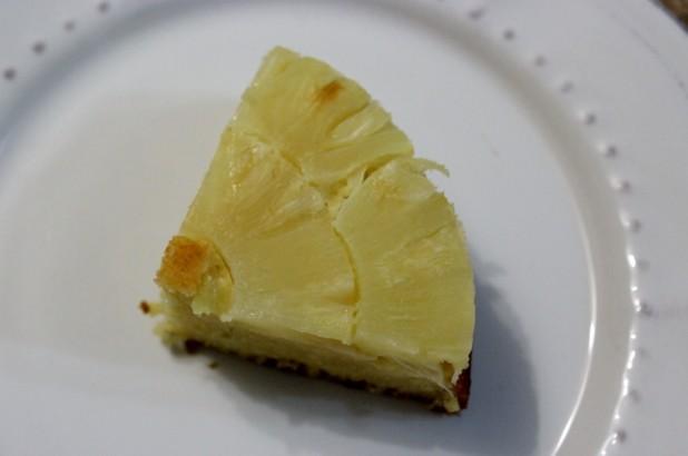 gateau renversé à l'ananas
