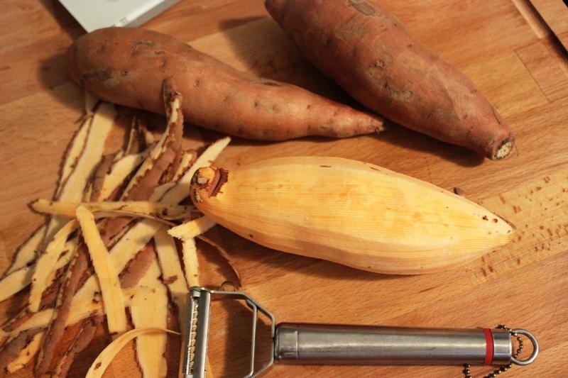 brochette de magret de canard et patate douce