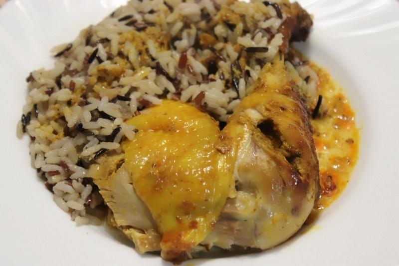 poulet roti au curry et riz au lait de coco (16)