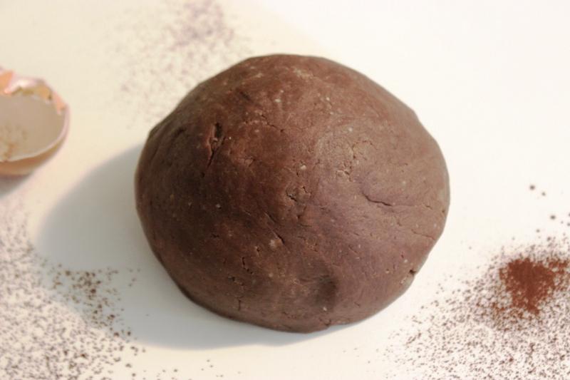 pâte sucrée au cacao