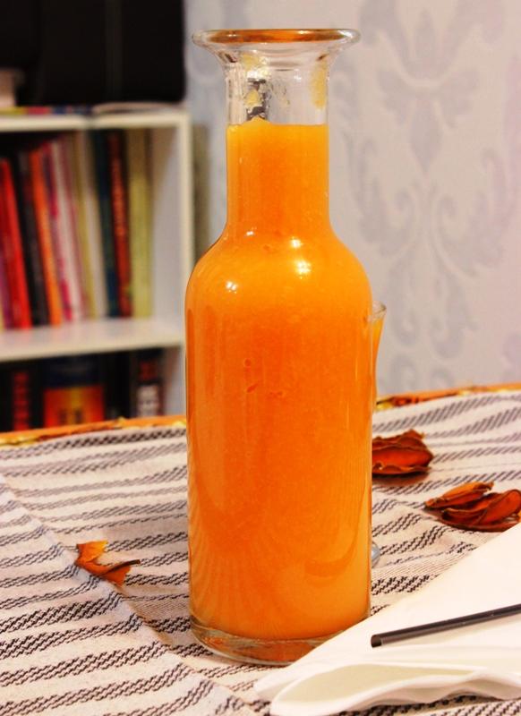 smoothie papaye orange