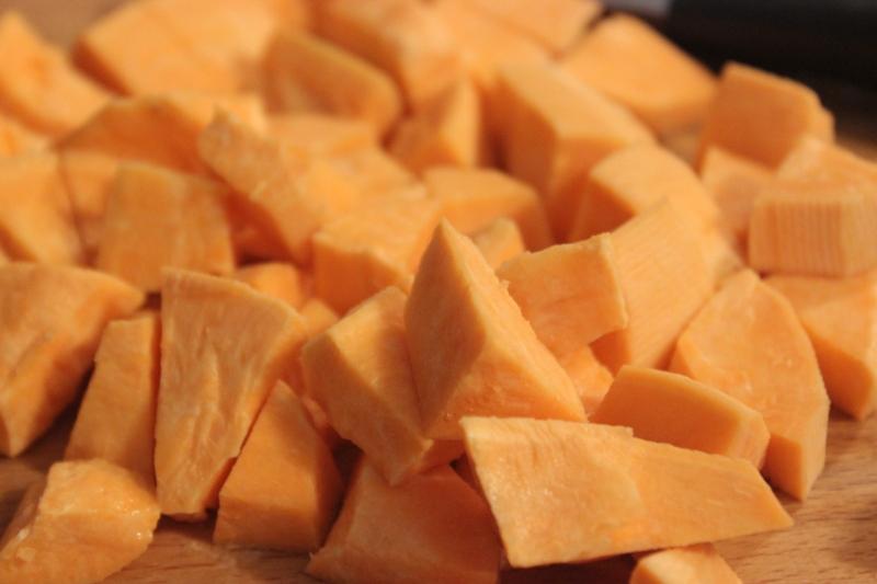 velouté de patate douce au gingembre et rhum (1)