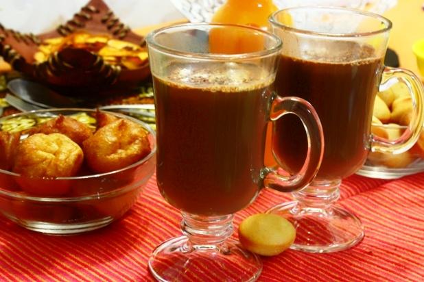 chocolat chaud au gingembre