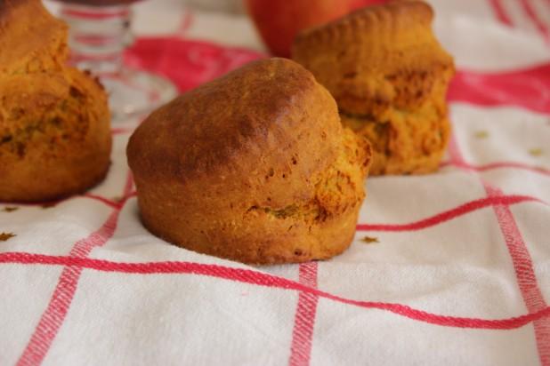 scones à la patate douce, orange & gingembre