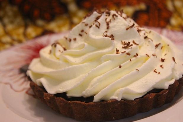 Tartelette au chocolat Liégeois
