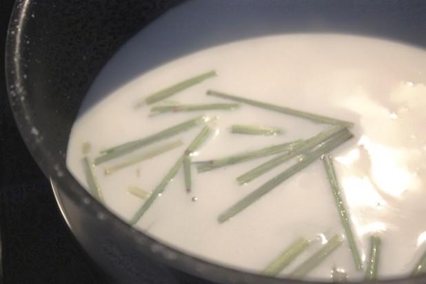 yaourt à la citronnelle