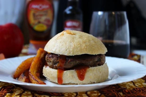 burger de sanglier et manioc alice pegie cuisine. Black Bedroom Furniture Sets. Home Design Ideas