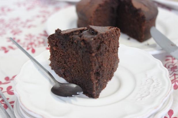 cake au chocolat et au gingembre