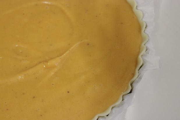 tarte à la patate douce