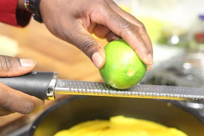 tarte tatin de mangue (2)