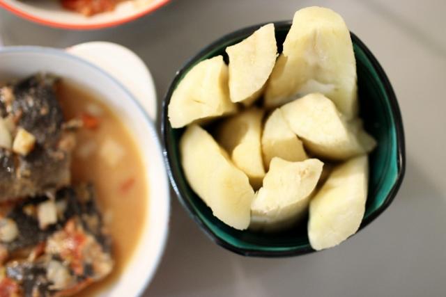 manioc bouilli