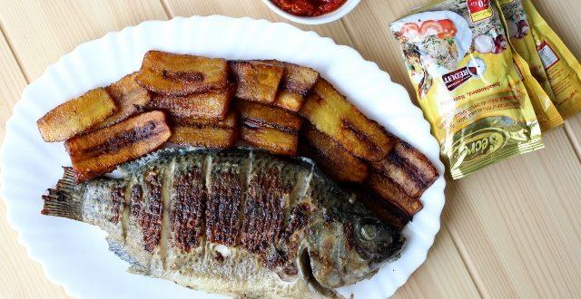 poisson grillé aux épices SECRET