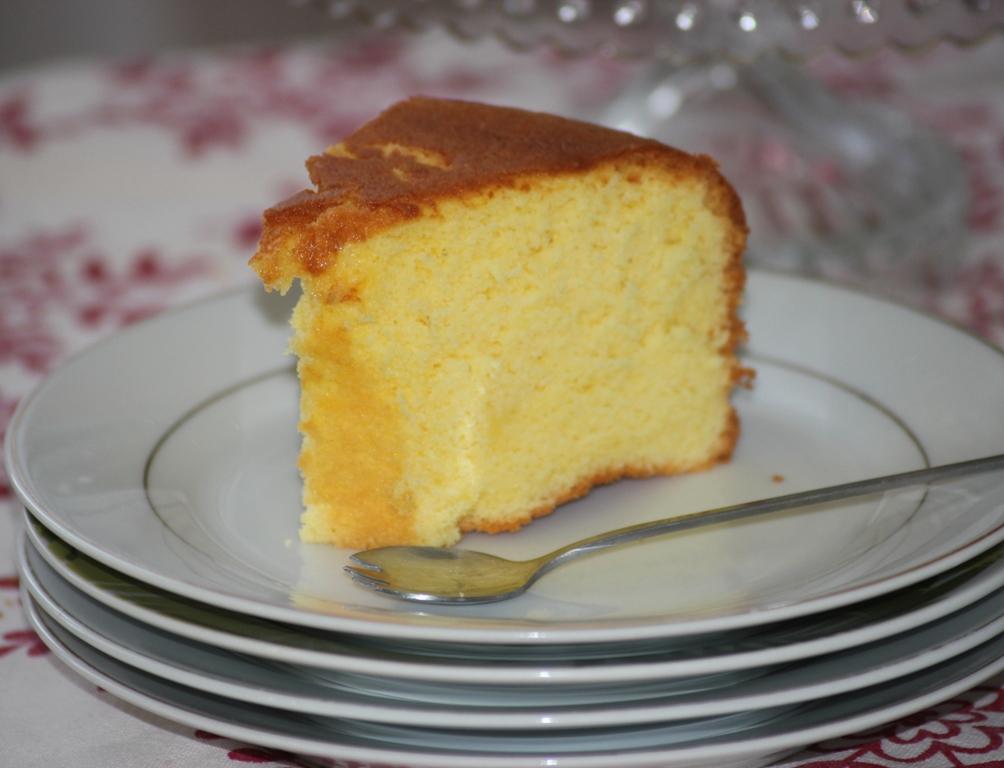 orange chiffon cake