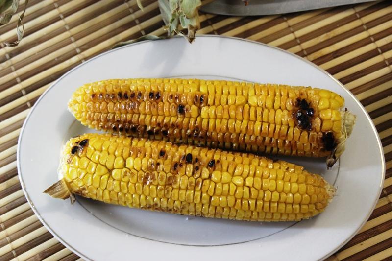 maïs grillé