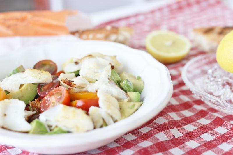 salade à la morue