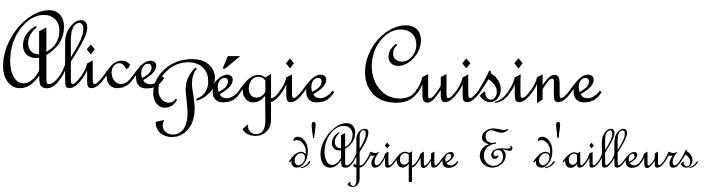 Alice Pégie Cuisine Logo