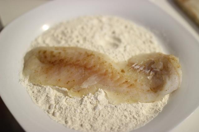 poisson pané maison