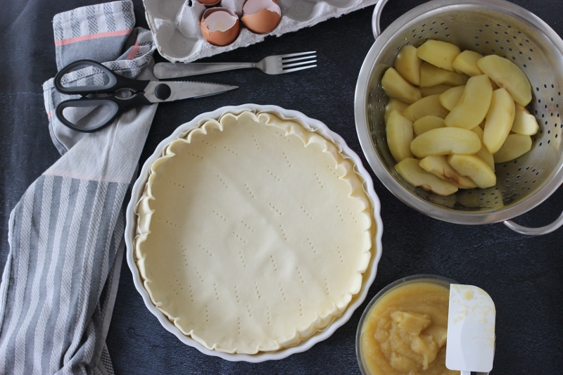 tarte au pommes fondantes