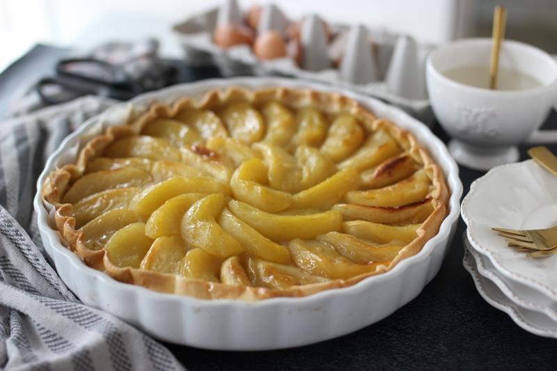 tarte aux pommes fondantes