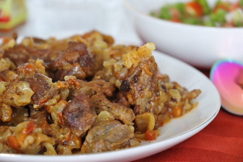 tibs sauté de bœuf éthiopien