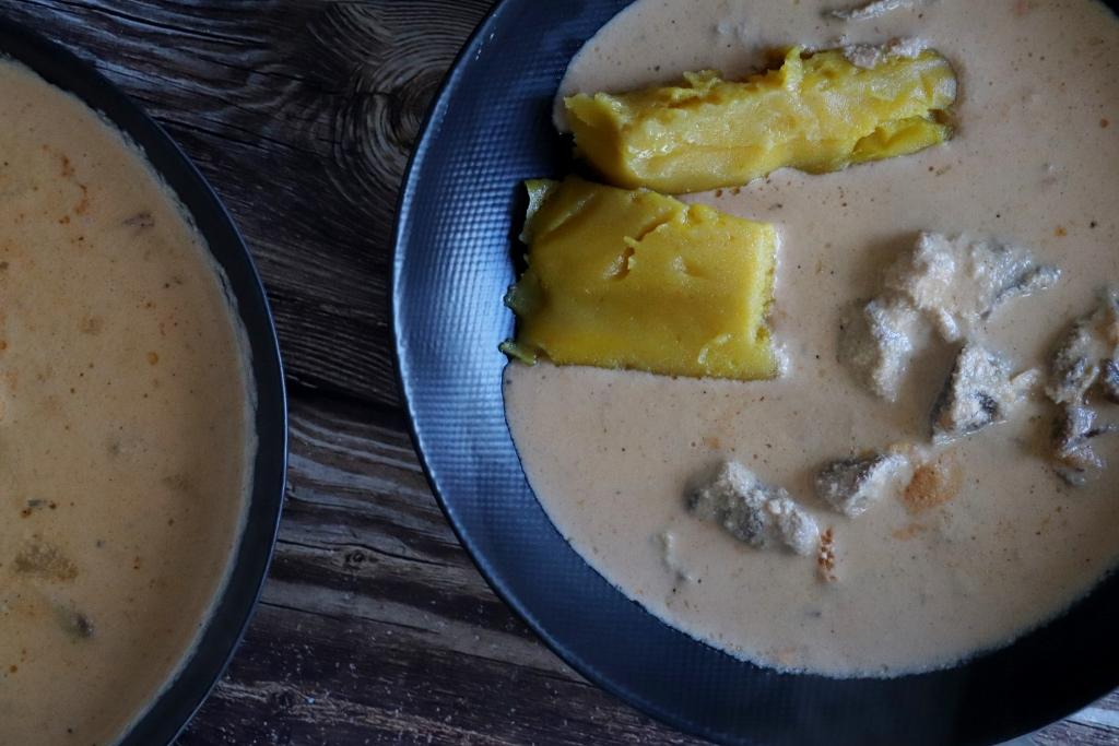 ekwankoko sauce blanche